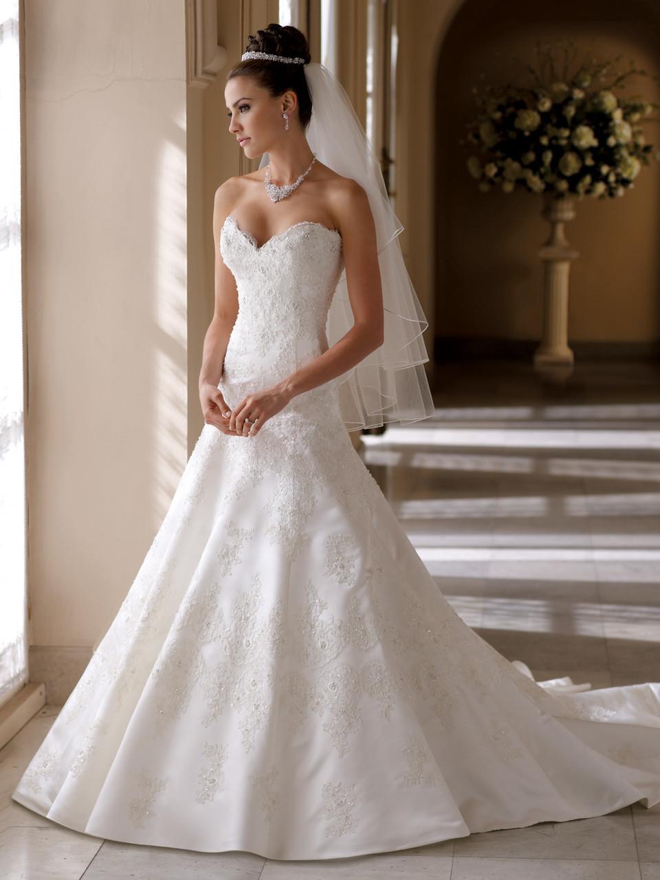 David Tutera Bridal Gown Helen 113215 On Sale Dimitra Designs