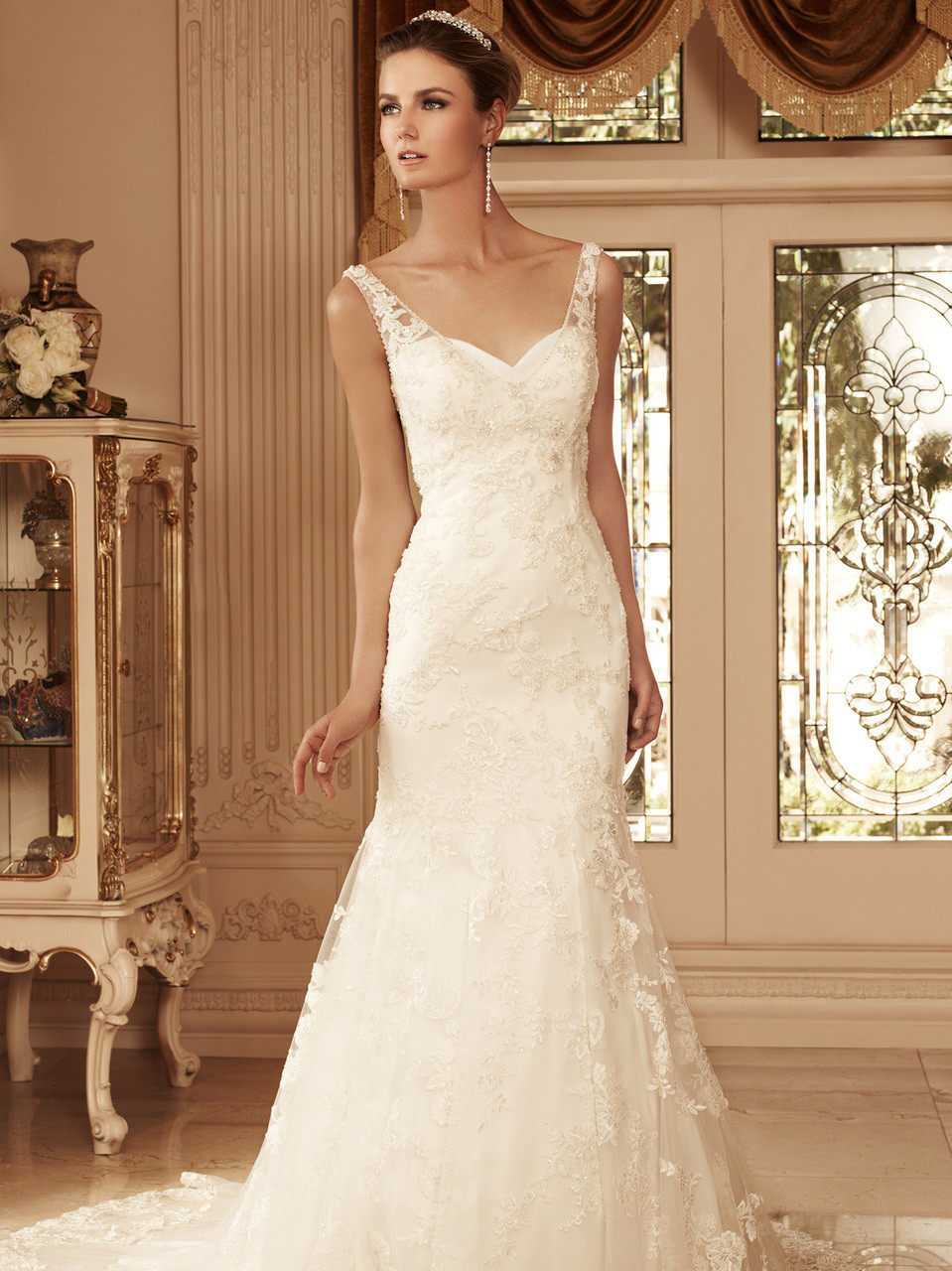 Sweetheart Trumpet Bridal Gown Casablanca Bridal Gown 2099 Dimitradesigns Com