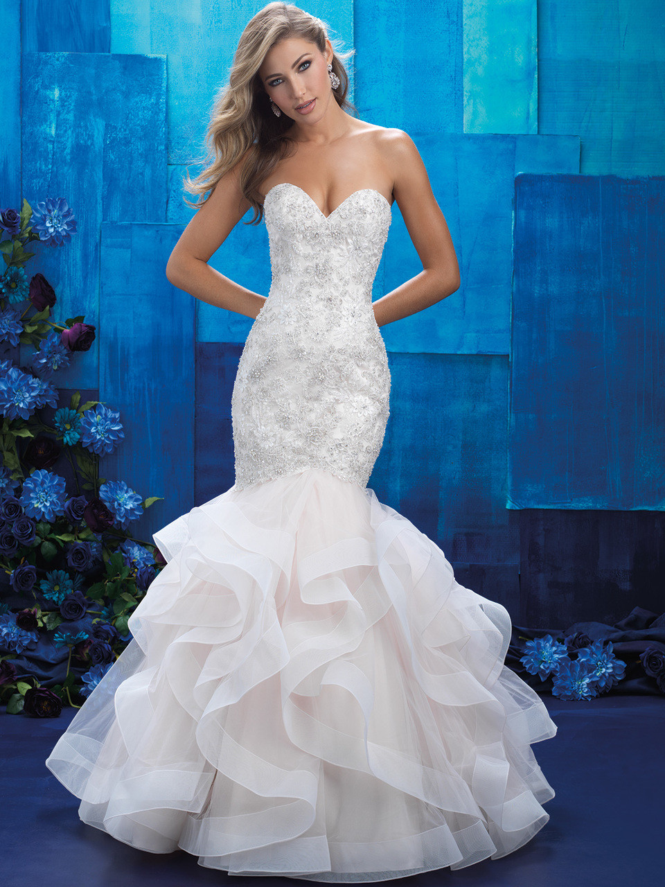 Allure Bridals 9421 Sweetheart Mermaid Wedding Dress