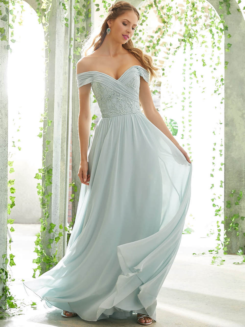 1355e7c245f7 Mori Lee Bridesmaid Dress 21614 | Dimitra Designs