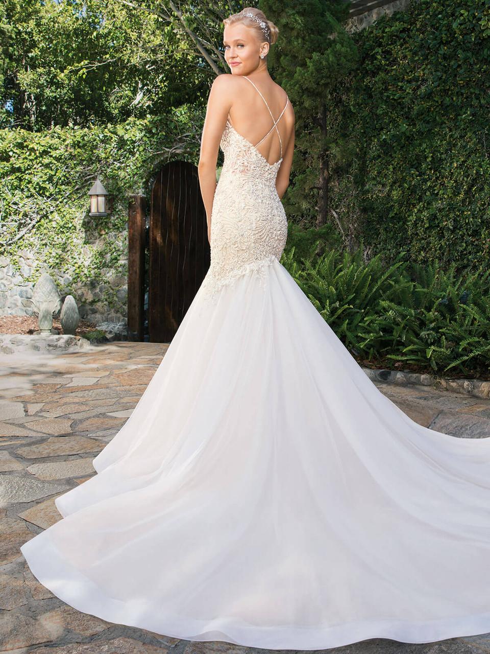 Casablanca Bridal Gown Clara 2359 Dimitra Designs