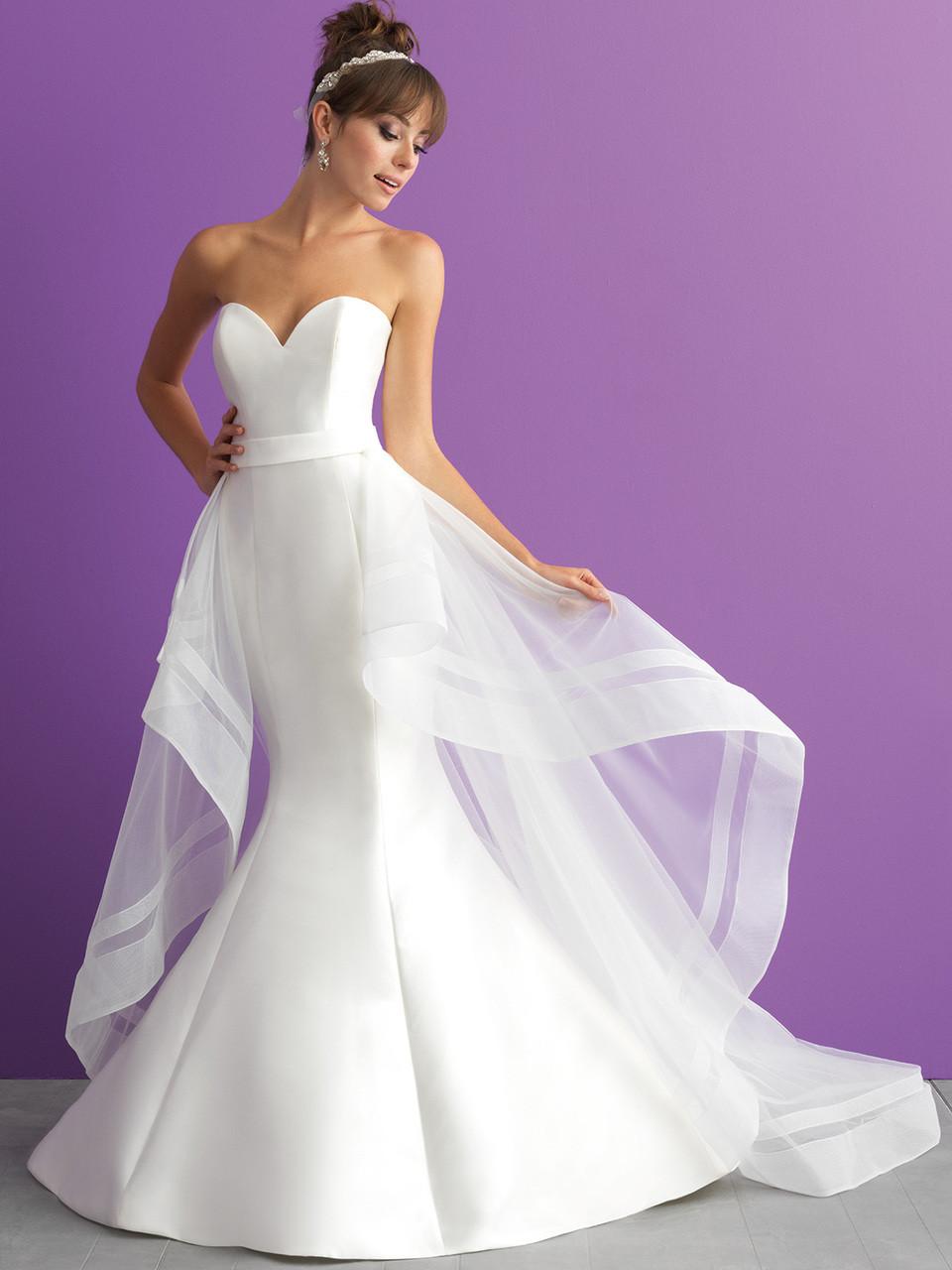 7d9fae84ecb2 Allure Romance 3000T Sweetheart Mermaid Wedding Dress ...