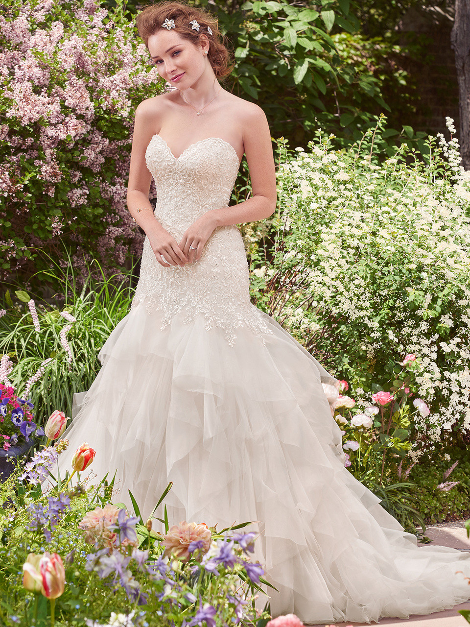 f9b91dad187 Rebecca Ingram Fit   Flare Bridal Gown Millicent by Maggie Sottero ...