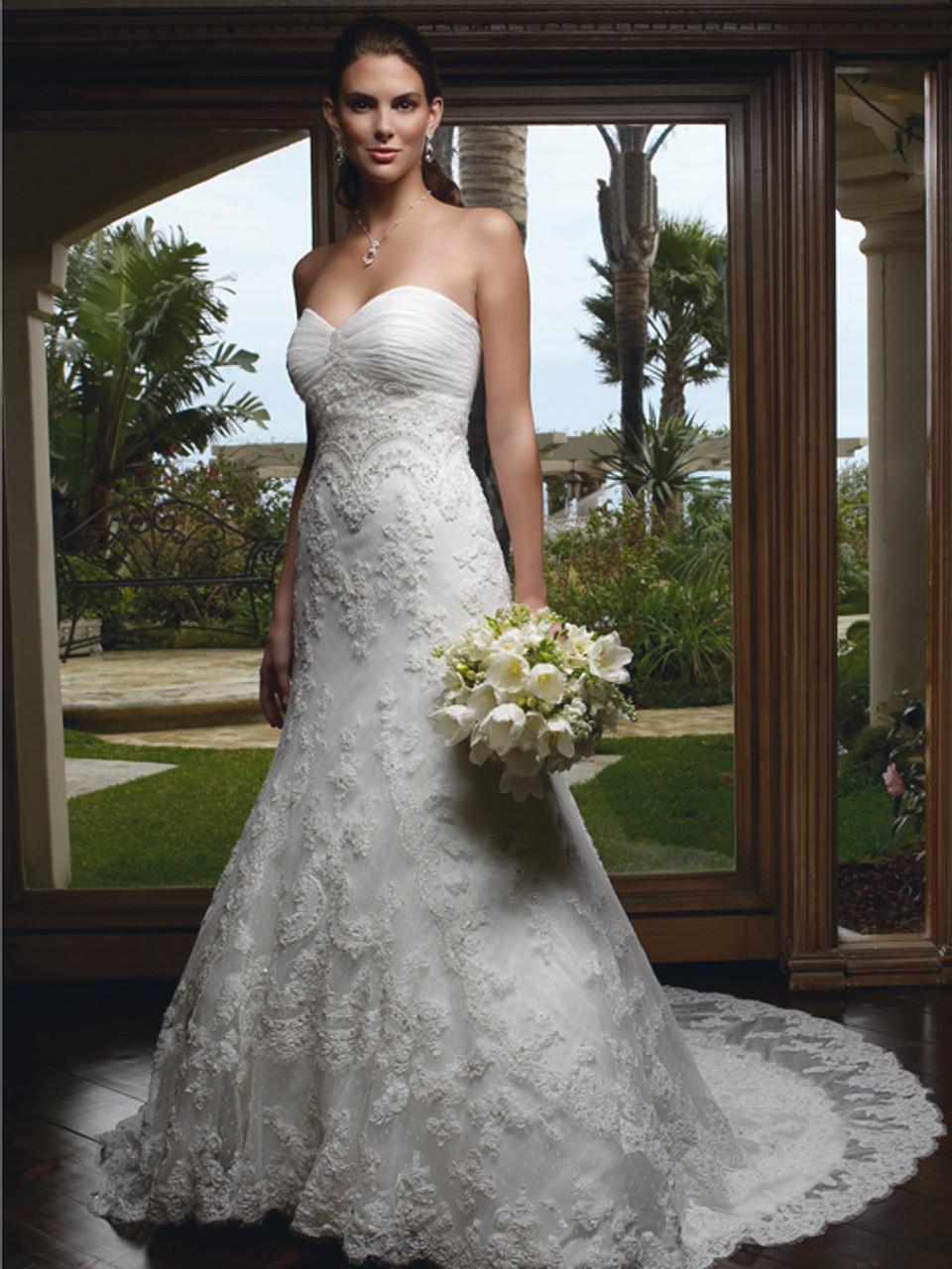 Casablanca Bridal 1914 Wedding Gown Dimitradesigns