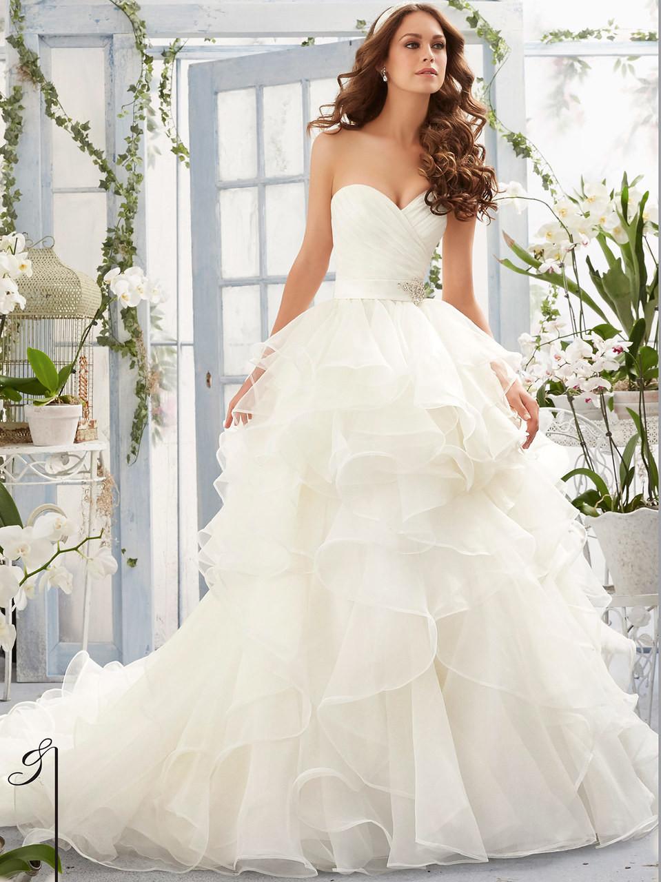 Mori Lee Ball Gown Wedding Dresses