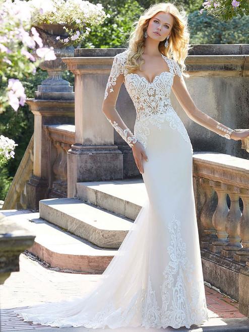 64fa8f9914cd3 Long Sleeves wedding gown Mori Lee Phillipa 2027