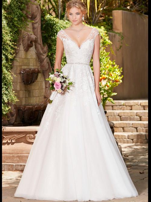 KittyChen V-neck Bridal Gown Rebecca