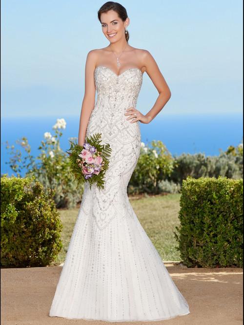 KittyChen Sweetheart Beaded Bridal Gown Jamie
