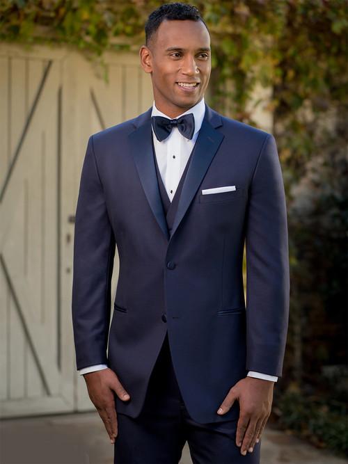 Ike Behar Navy Blue Tuxedo