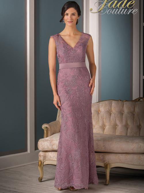 Jade Couture K188009 V-neck Mother Of The Bride Dress