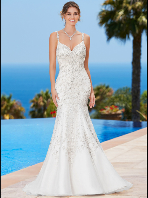 KittyChen Sweetheart Beaded Bridal Gown Pauletta