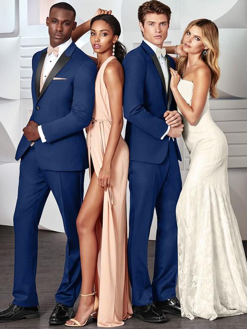 Wedding Tuxedo Cobalt Blue Tribeca