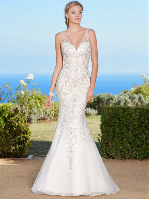 KittyChen V-neck Beaded Bridal Gown Naveah