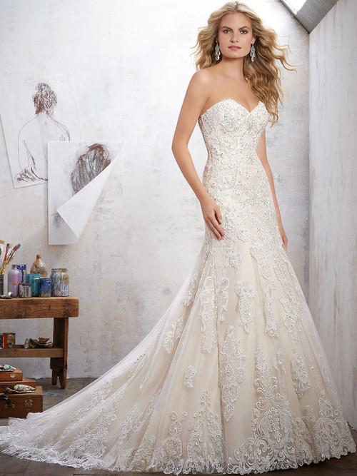 Mori Lee 8102 Sweetheart Wedding Dress Mackinley