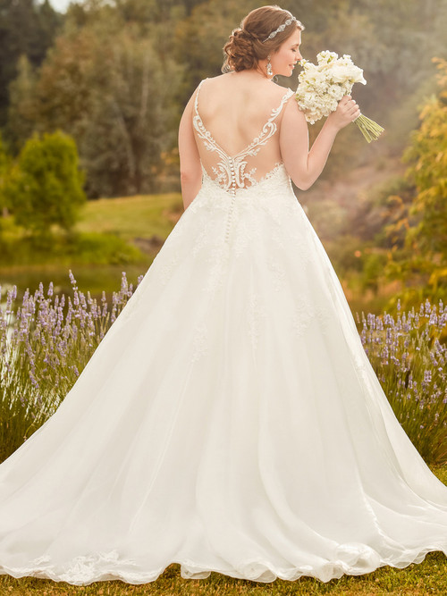 Ivory Ball Gown  wedding dress Essense D2343