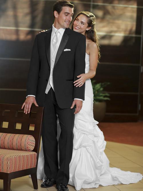 black wedding tuxedo troy by stephen geoffrey