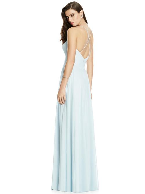 Spaghetti Straps Dessy Bridesmaid Dress 2988