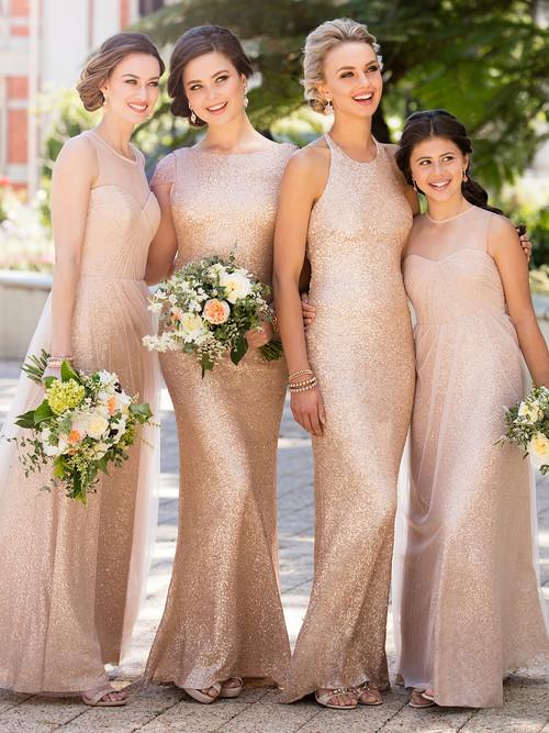 999837c3732 Sorella Vita Bridesmaid Dress 8689  Sorella Vita Bridesmaid Dress 8689   Tulle And Sequin Floor Length ...