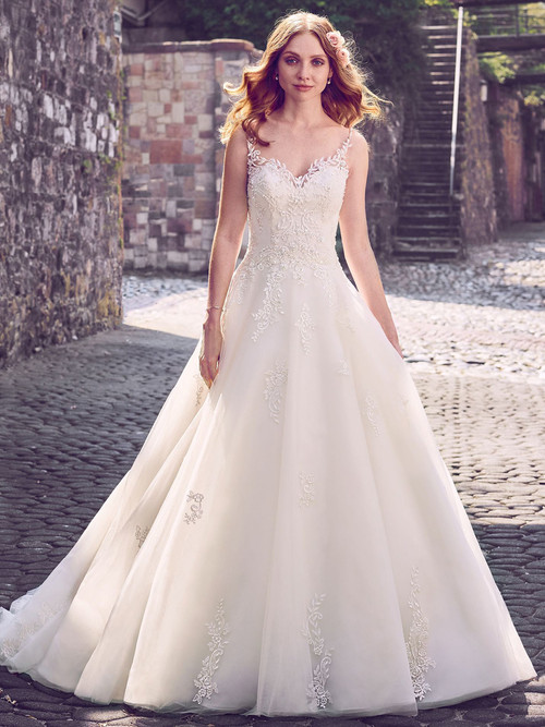 Sweetheart Ball Gown wedding gown Maggie Sottero Amara