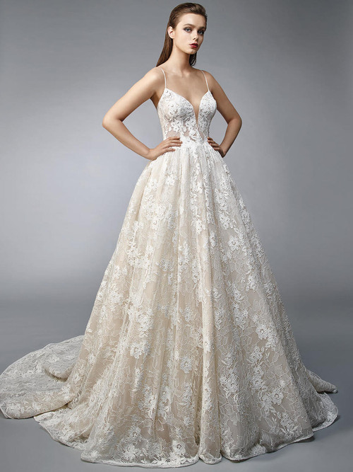 A-line wedding gown Enzoani Nalee