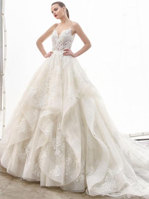 Ball gown wedding dress Enzoani Natassia