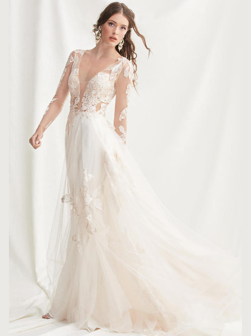 Long Sleeves wedding gown Willowby Rhapsody 52700
