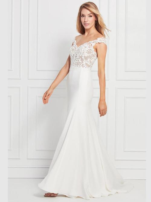 Off The Shoulder wedding gown Wtoo Pierce 12201