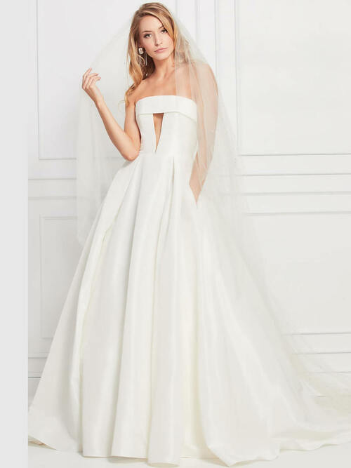 Strapless wedding gown Wtoo Hensley 12203