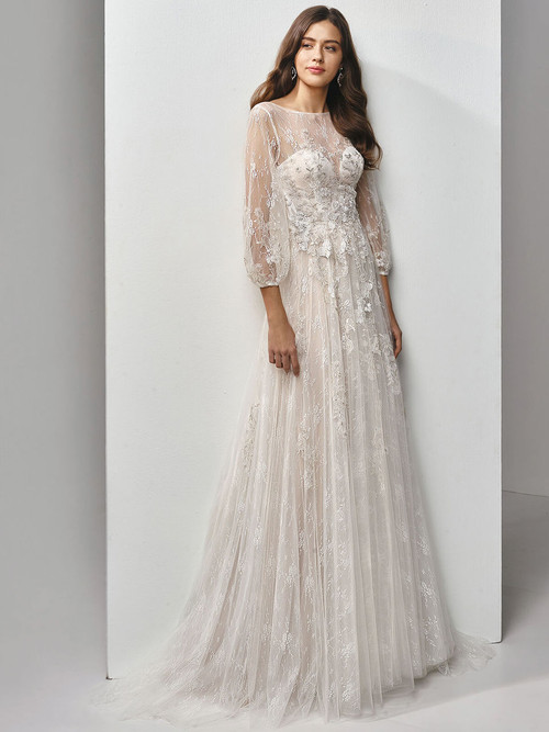 A-Line Wedding Gown Beautiful by Enzoani BT19-18