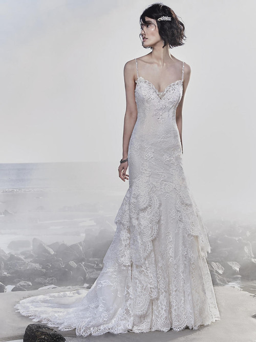 Fit And Flare wedding gown Sottero and Midgley Jackson 8SW787