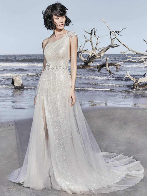One Shoulder wedding gown Sottero and Midgley Ronelle 8SC756