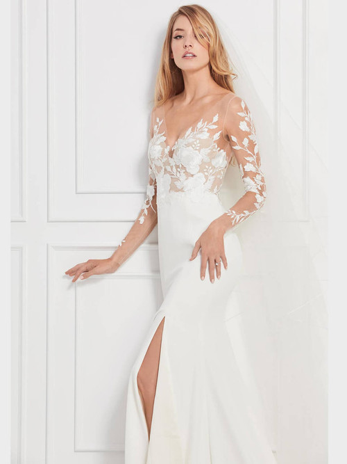 Wtoo Wedding Gown Rylan Long Sleeve 12701