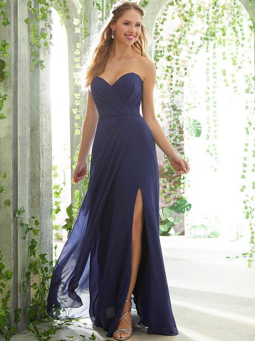Sweetheart bridesmaid dress Mori Lee 21611