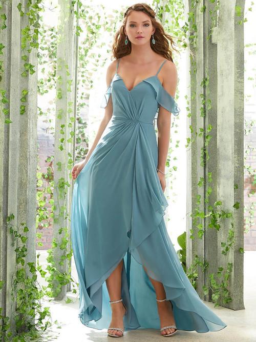 High Low bridesmaid dress Mori Lee 21615