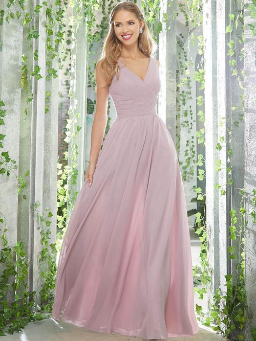 A-line bridesmaid dress Mori Lee 21621