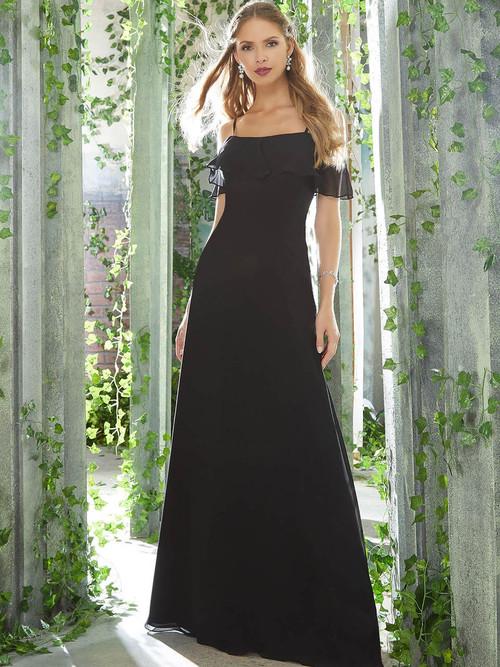 Cold Shoulder bridesmaid dress Mori Lee 21625