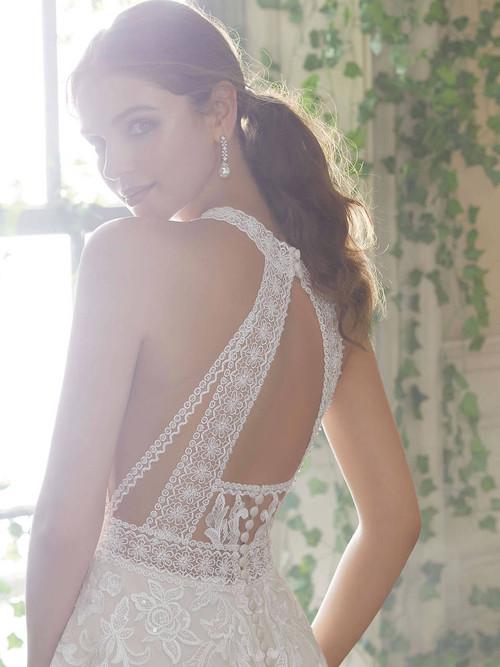Mori Lee Blu Bridal Gown Poppy 5708
