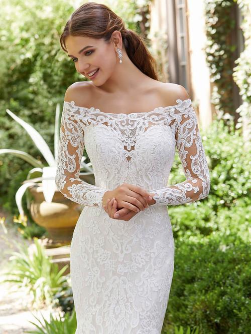 Mori Lee Blu Bridal Gown Priscilla 5709