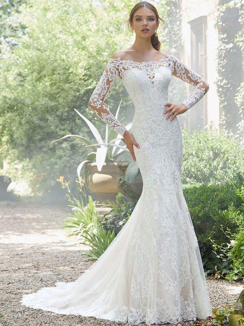 Mori Lee Blu Wedding Gown Priscilla 5709 Dimitra Designs,Designer Plus Size Wedding Guest Dresses