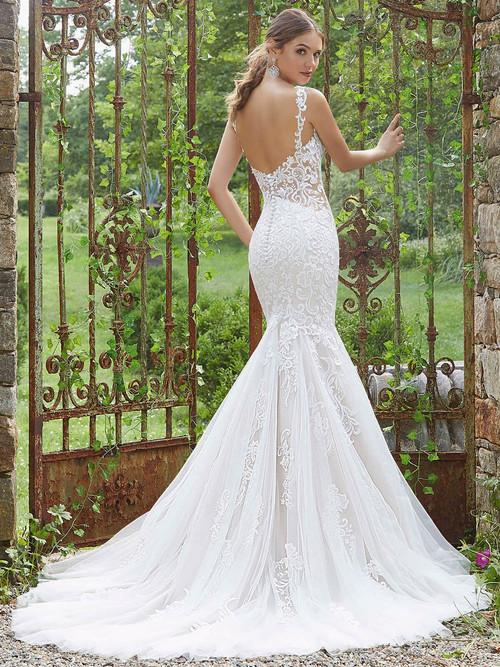 Mori Lee Blu Bridal Gown Palmira 5710
