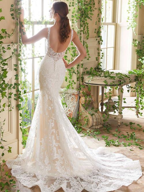 Mori Lee Blu Bridal Gown Penny 5711