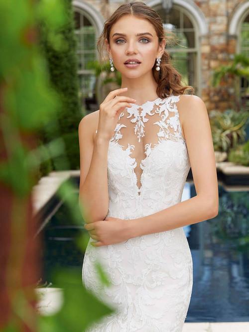 Mori Lee Blu Bridal Gown Peony 5713