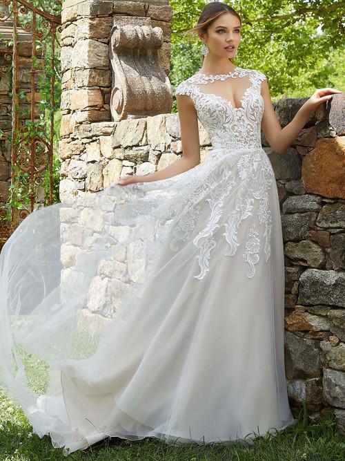 Mori Lee Blu Bridal Gown Patrice 5715