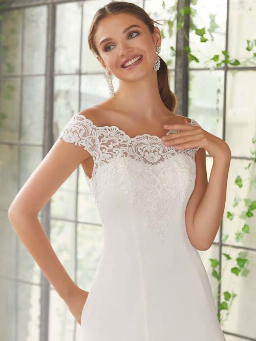 Mori Lee Blu Bridal Gown Phyllis 5717
