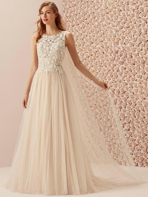 A-line wedding dress Pronovias Murillo