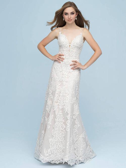 A-line wedding gown Allure Bridals 9605