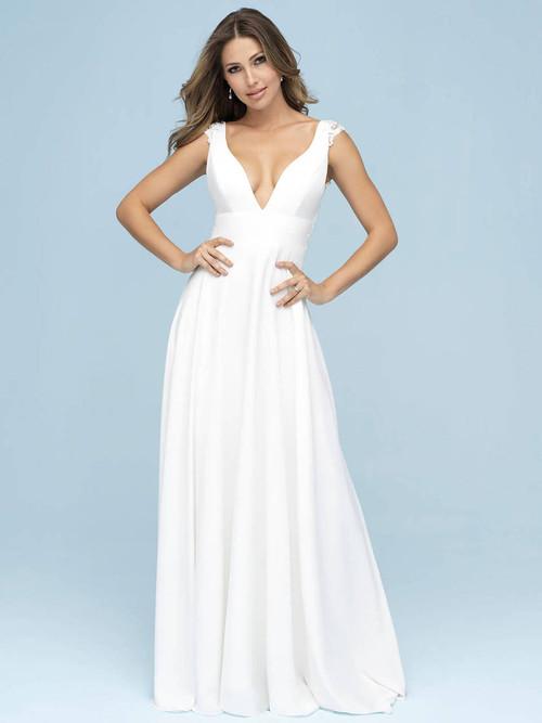 A-line wedding gown Allure Bridals 9610