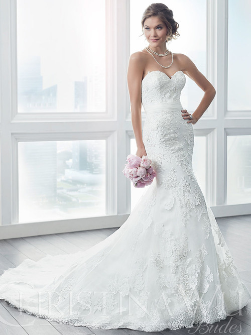 Christina Wu 15627 Sweetheart Wedding Dress