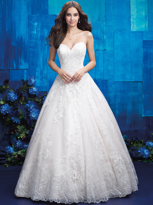 Allure Bridals 9413 Sweetheart Wedding Gown