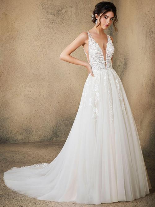 Morilee Blu Bridal Gown Rosa 5763